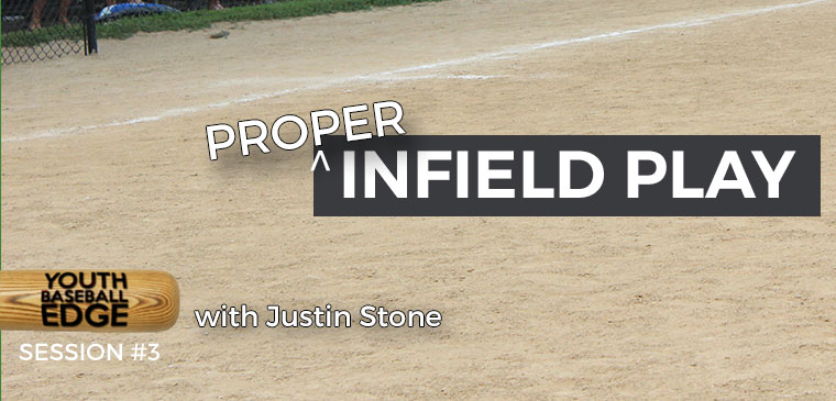 YBE 003: Proper Infield Play in Youth Baseball with Justin Stone
