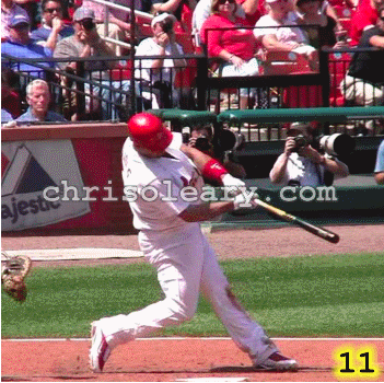 Chris O'Leary's analysis of Albert Pujols' swing