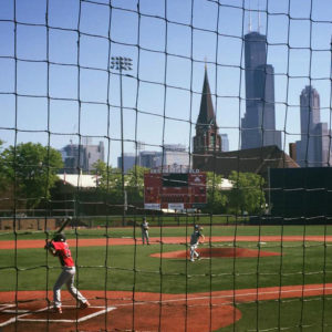 11u travel game at UIC