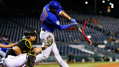 Kris Bryant point of contact Insider Bat overlay