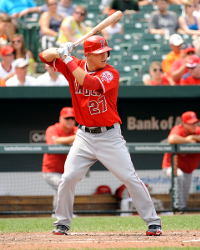 Mike Trout stance