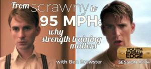 YBE 104: importance of strength training cover art